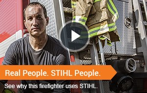 Real People. STIHL People.